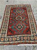 Caucasian-style Area Carpet, 7ft x 4ft 11in