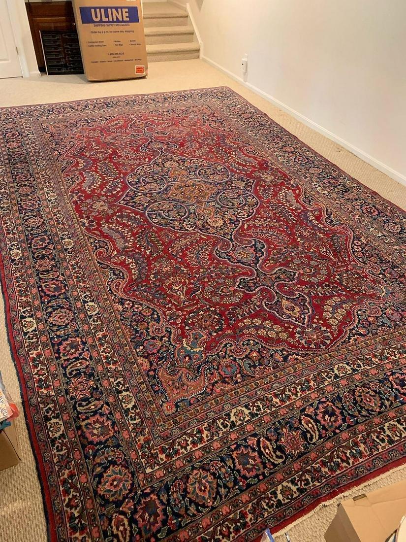 Sarouk Room-size Carpet, 16ft 6in x 10ft 2in