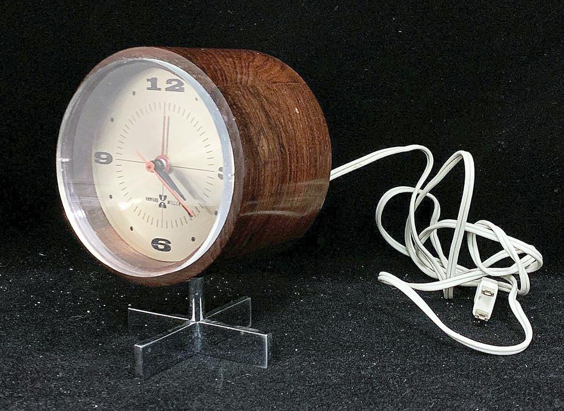 Howard Miller Rosewood Table Clock