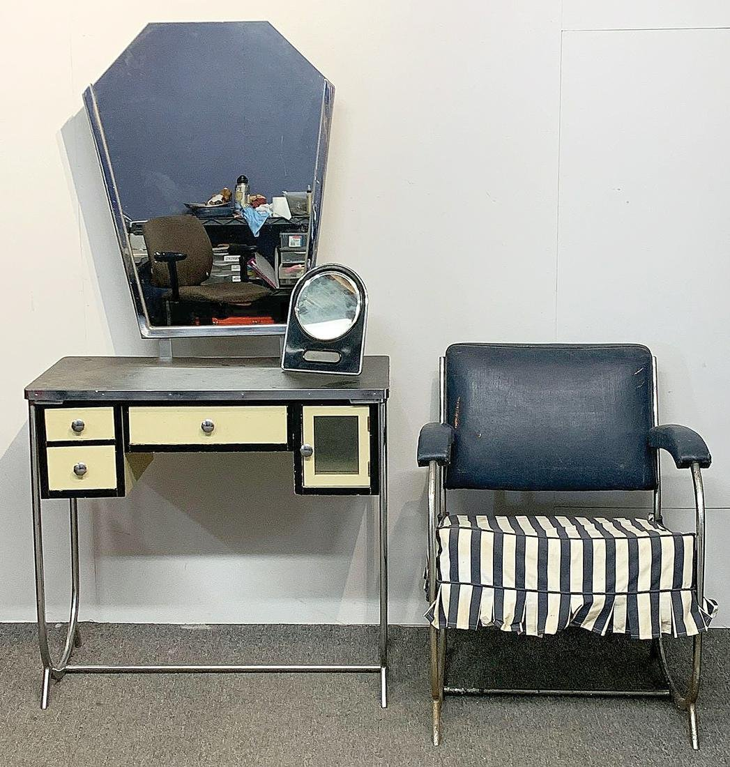 Three-piece Art Deco Furniture Grouping