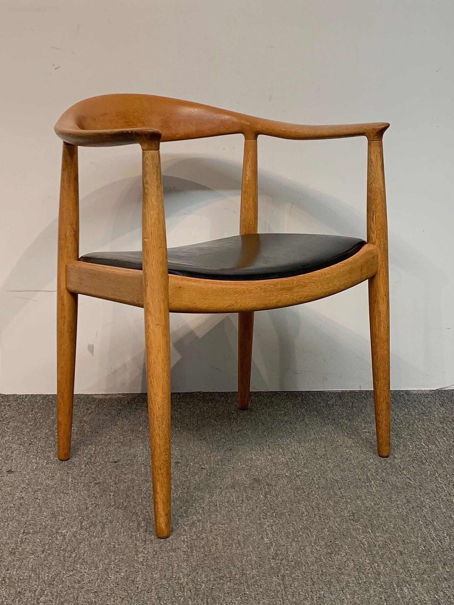 Hans Wegner for Johannes Hansen Round Chair