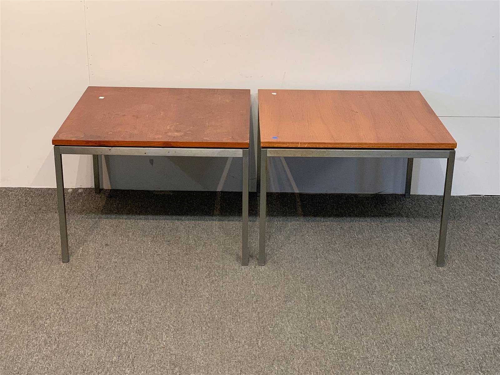 Pair of Florence Knoll Tables