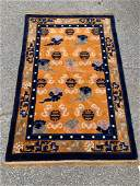 Chinese Deco Area Carpet, 6ft 2in x 4ft 1in