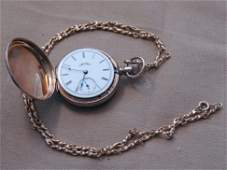 Ladies 14K Gold Elgin Pocket Watch