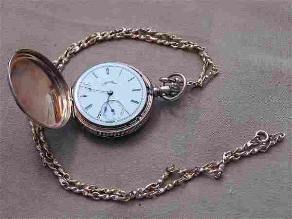 Ladies 14K Gold Elgin Pocket Watch
