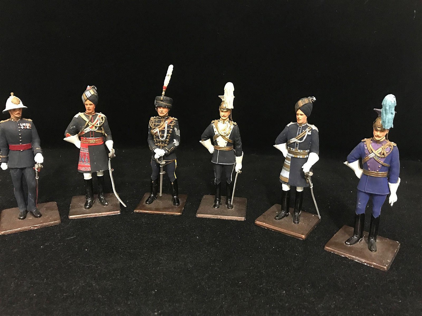 6 Sentry Box Officers