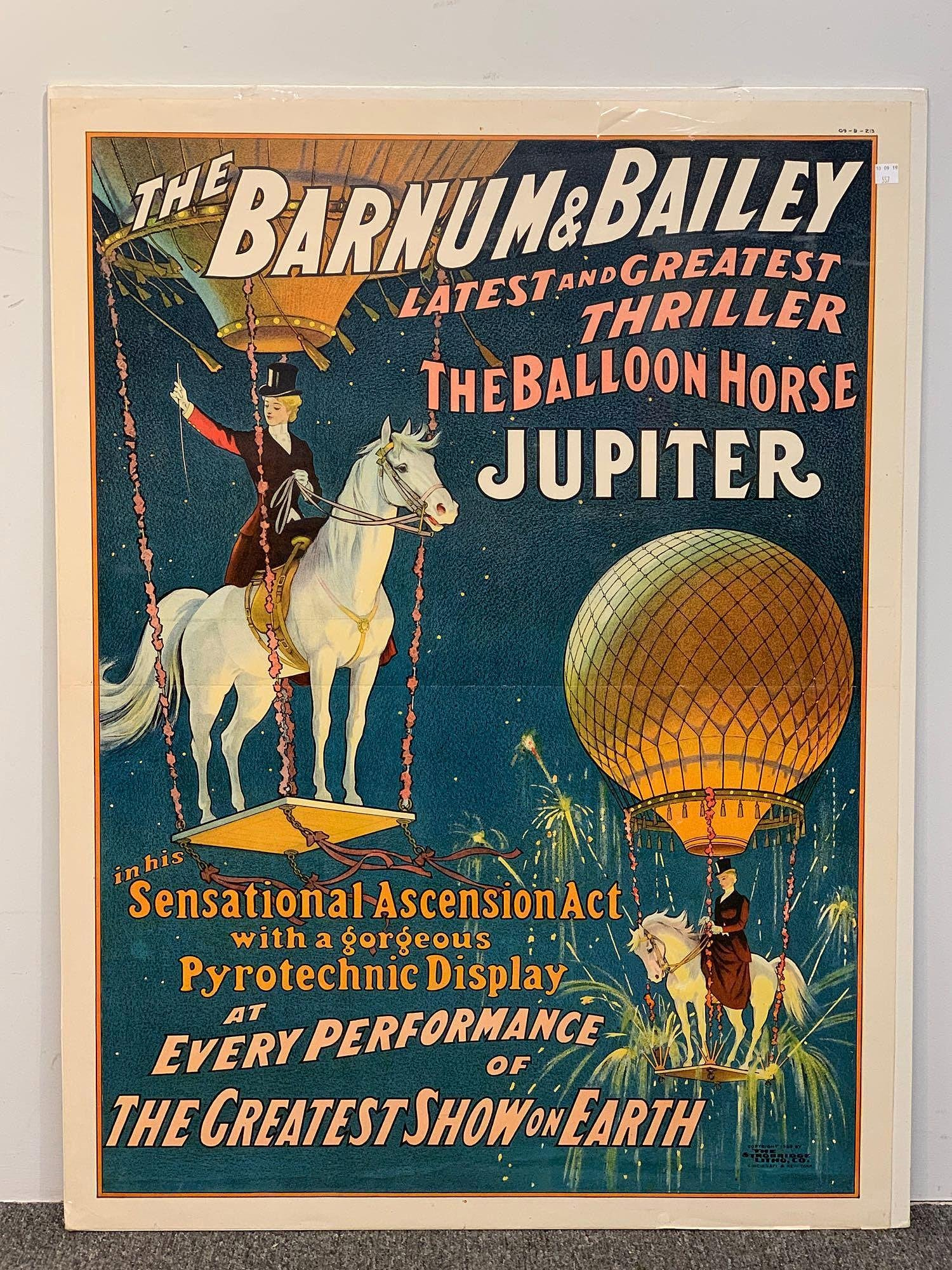Barnum & Bailey Lithograph Poster