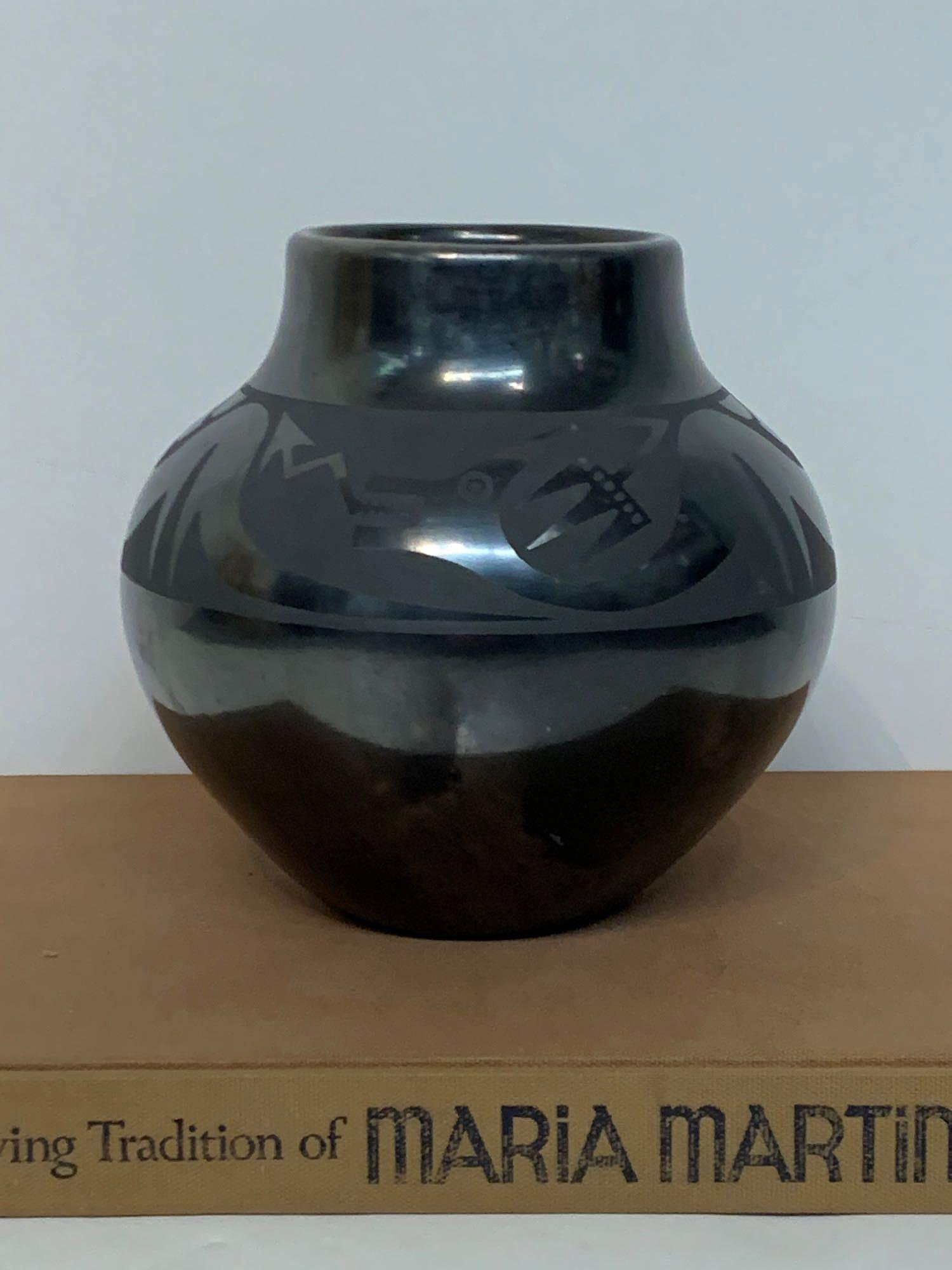 Maria Martinez Blackware Vase