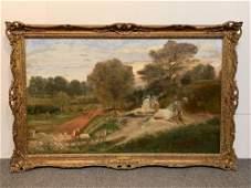 Thomas Collier. Oil On Canvas, Landscape