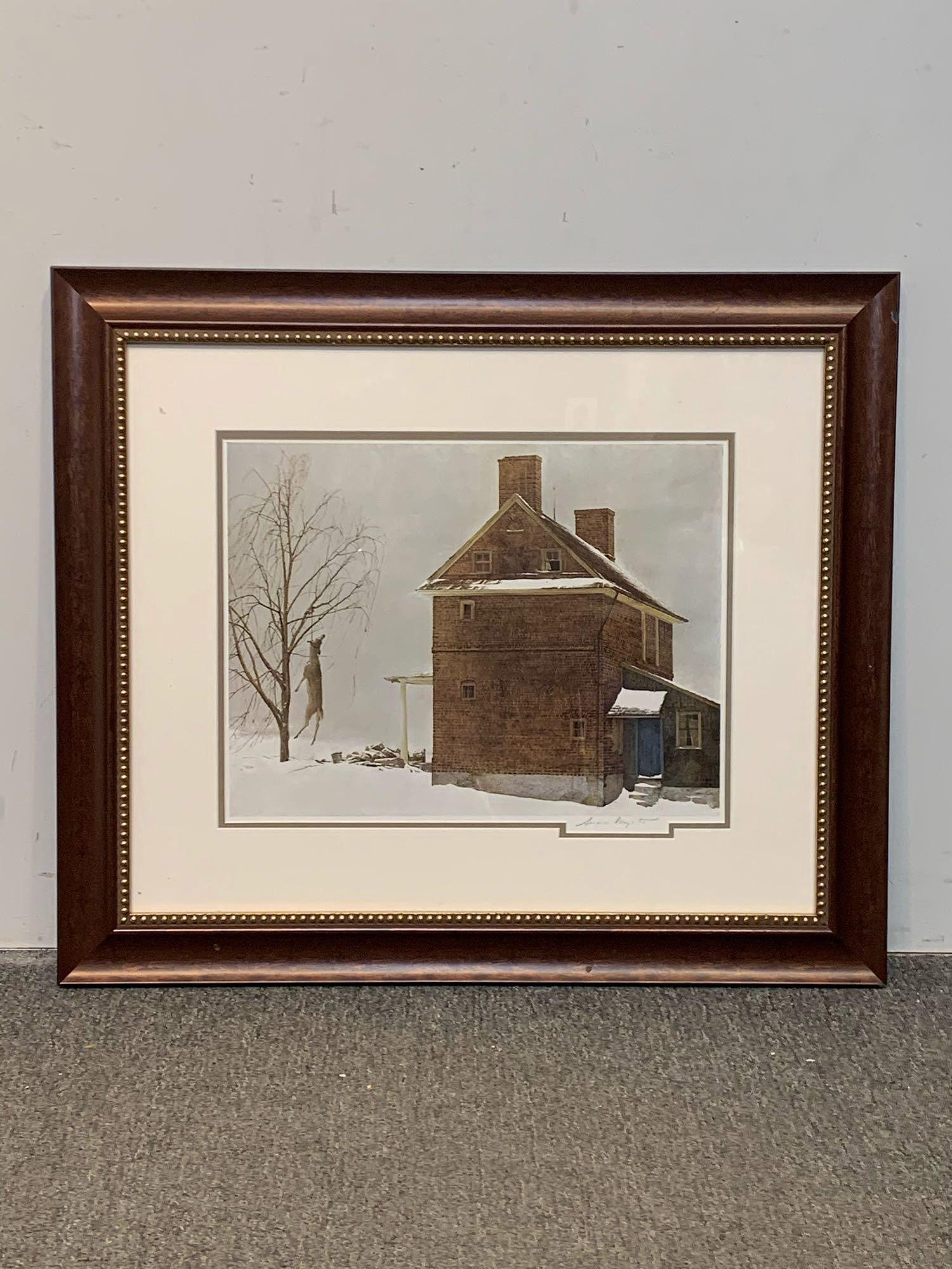Andrew Wyeth. Signed Print, Tenant Farmer