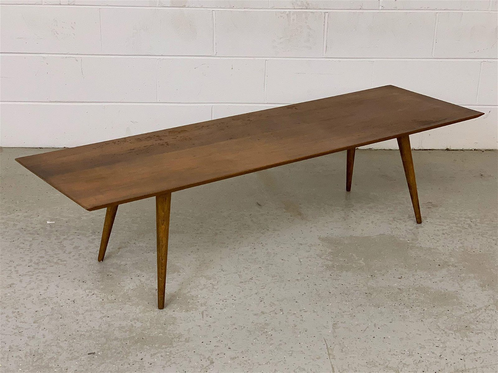 Paul McCobb Planner Group Bench/Coffee Table