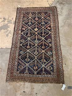 Caucasian Area Carpet, 8ft 8in x 4ft 9in