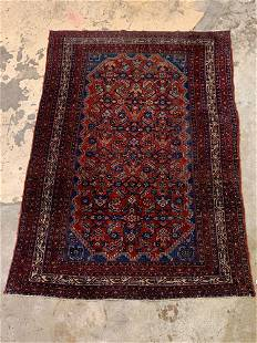 Persian Area Carpet, 6ft 5in x 4ft 9in