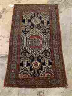 Caucasian Throw Carpet, 6ft 2in x 3ft 6in