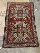 Kazak Caucasian Area Carpet, 7ft 1in x 4ft 2in