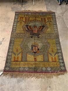 Caucasian Area Carpet, 9ft 4in x 6ft 11in
