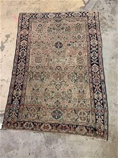 Persian Sarouk Throw Carpet, 6ft x 4ft1in