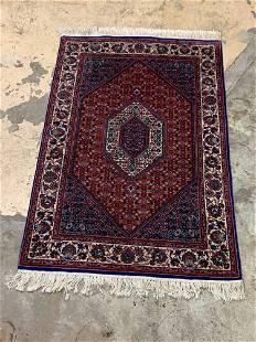 Persian Bidjar Area Carpet, 6ft 1in x 4ft 1in