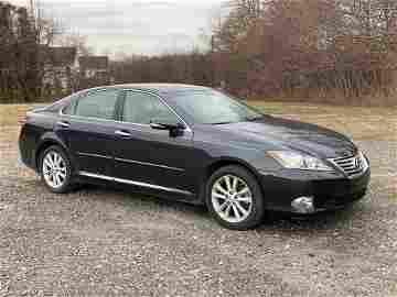 Estate Automobile: 2011 Lexus ES 350
