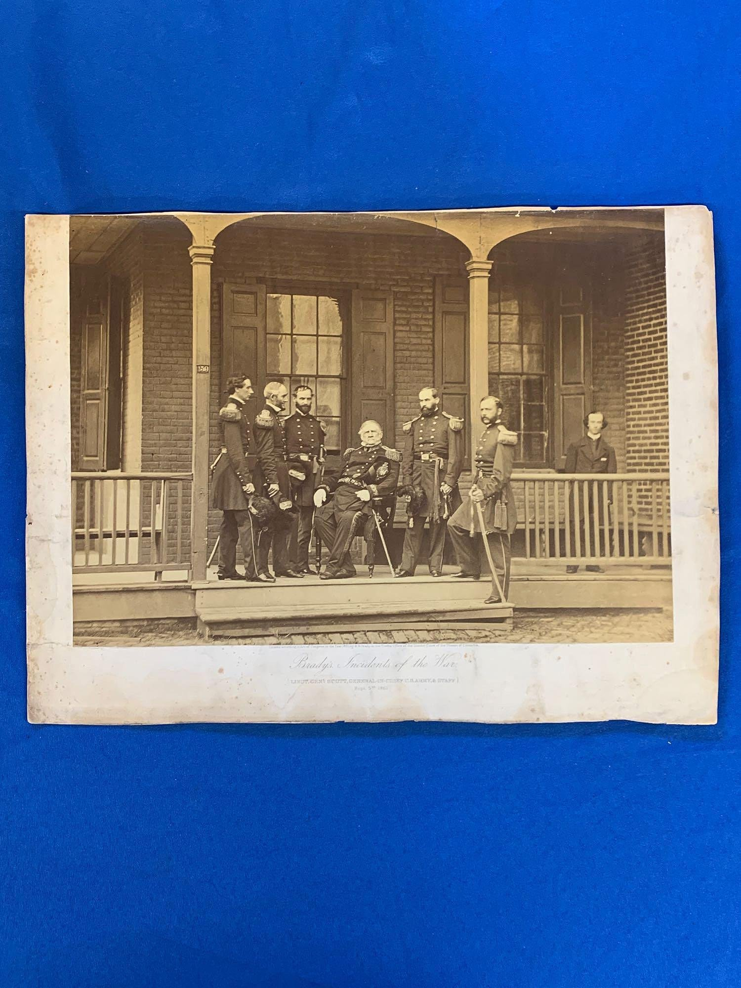 Matthew Brady Civil War Photograph