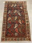 Antique Caucasian Area Carpet, 7ft 4in x 4ft 6in