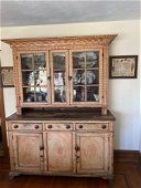 Decorated 19th Century Dutch Cupboard