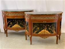 Fine Pair Of French Louis XV-style Cabinets