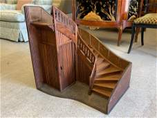 Architectural Wooden Staircase Model