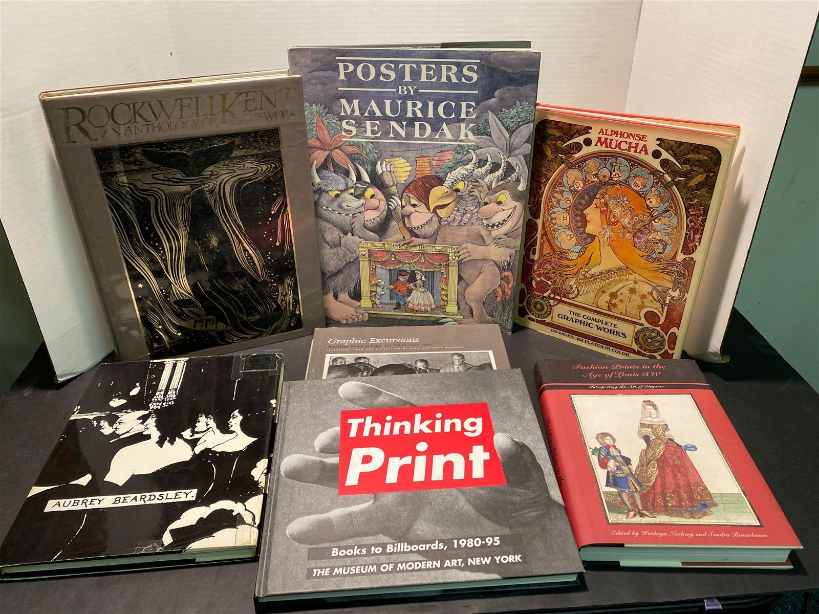 Seven Books: Posters and Prints