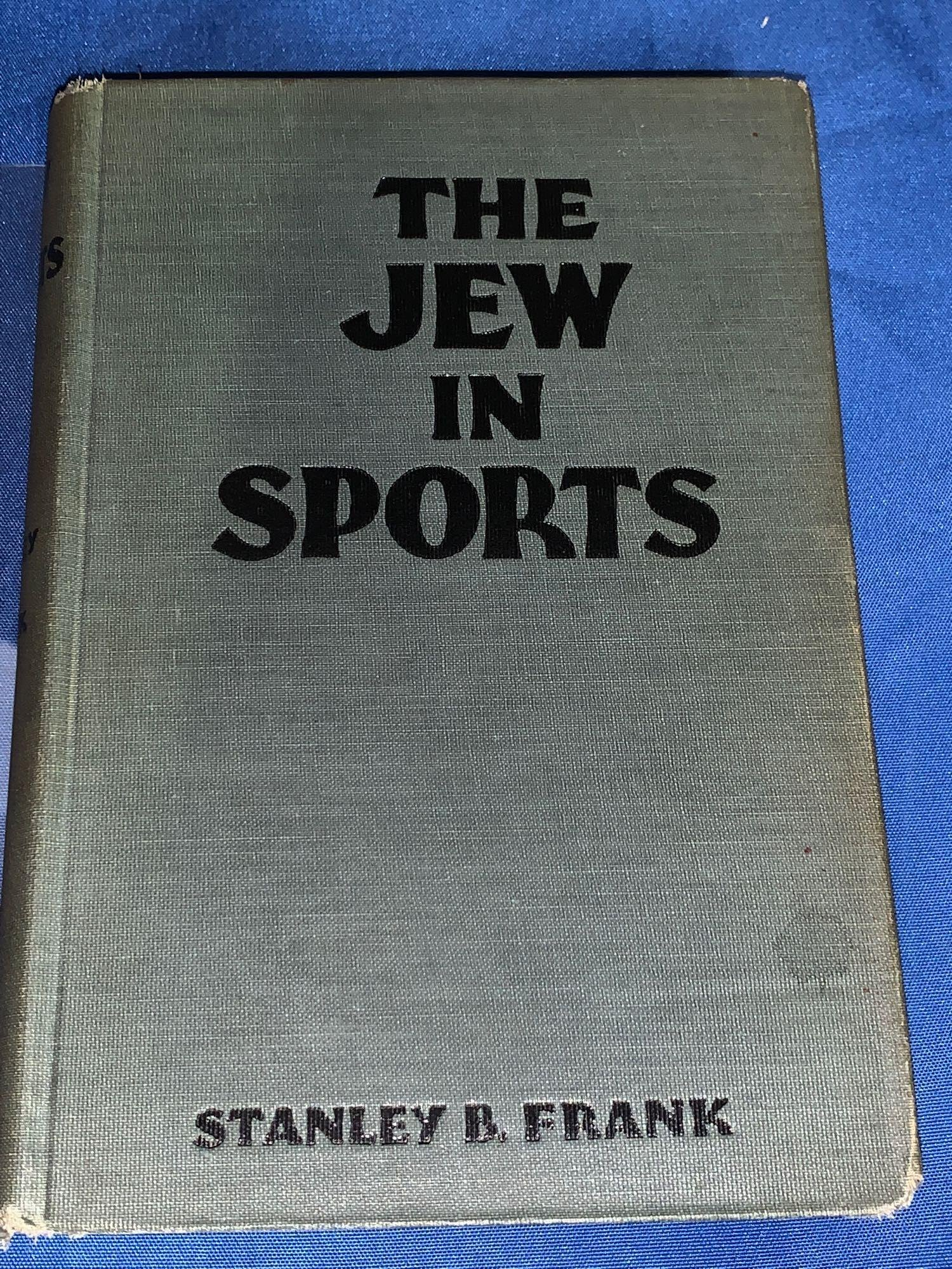 Stanley B. Frank, The Jew in Sports
