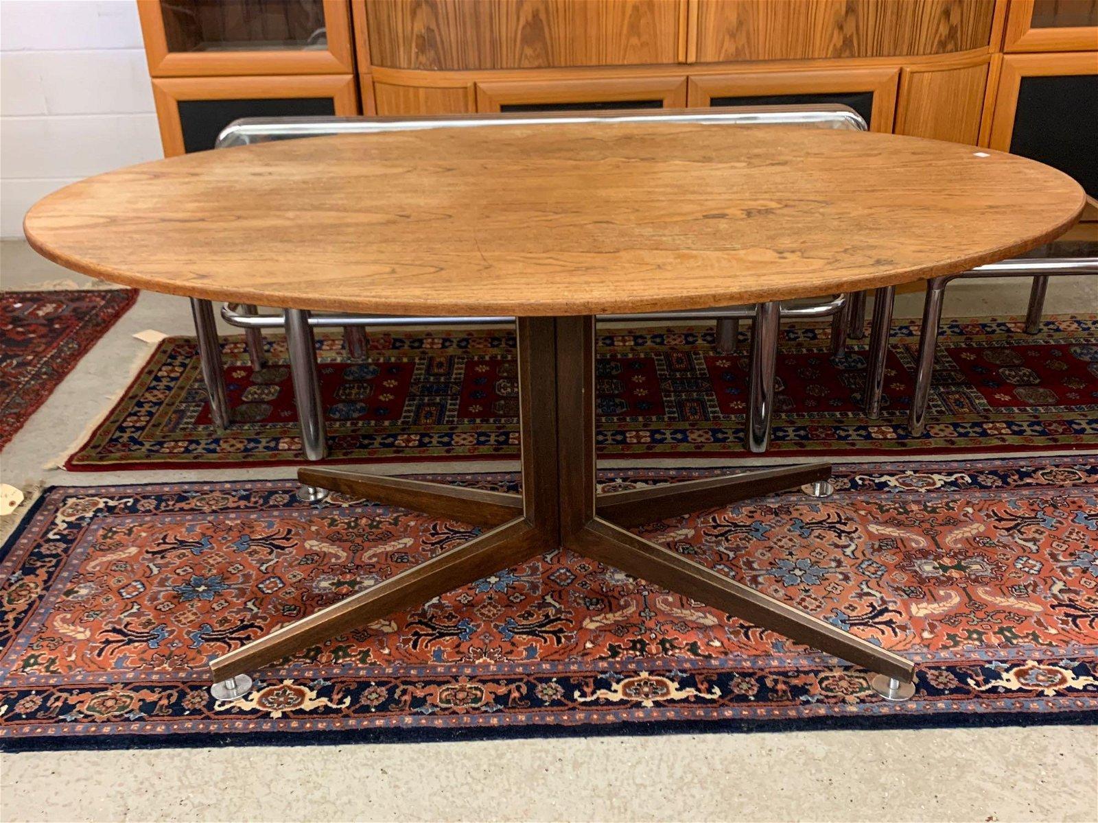 Edward Wormley for Dunbar Oval Dining Table