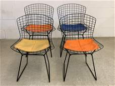 Four Harry Bertoia for Knoll Associates Chairs