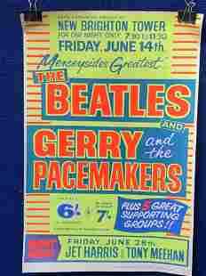 Beatles Concert Poster Reissue