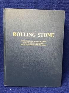 Bound Volume Rolling Stone Magazine 1974