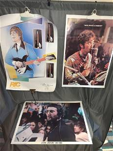 Three John Lennon Posters