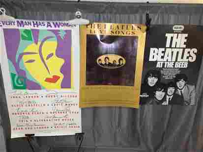 Three Beatlesrelated Promotional Posters