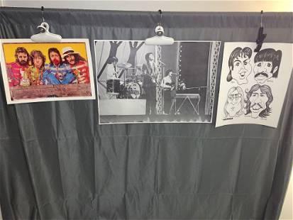 Three Beatlesrelated Posters
