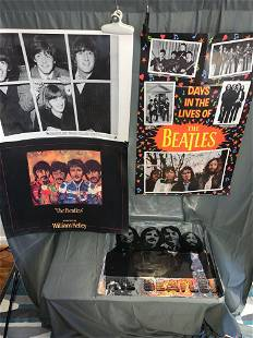 Four Beatles Posters