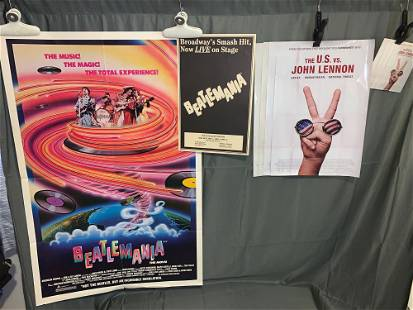 Beatlesrelated Posters and Cards