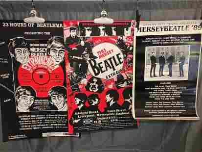 14 Mersey Beatle Extravaganza Posters