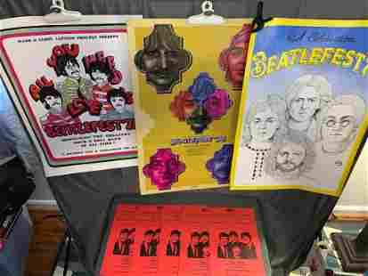 10 BeatleFest or Beatle Convention Posters