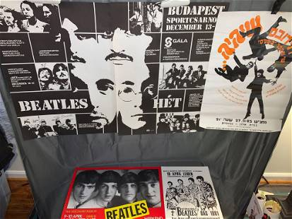 Four Foreign Beatlesrelated Posters