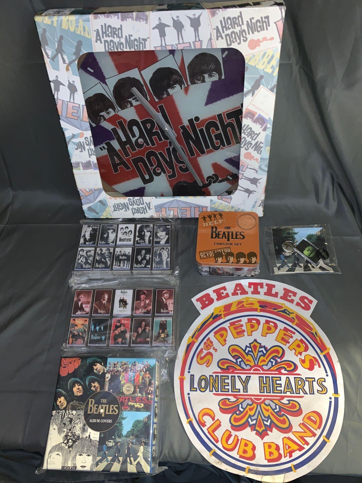 Grouping of Beatles Memorabilia