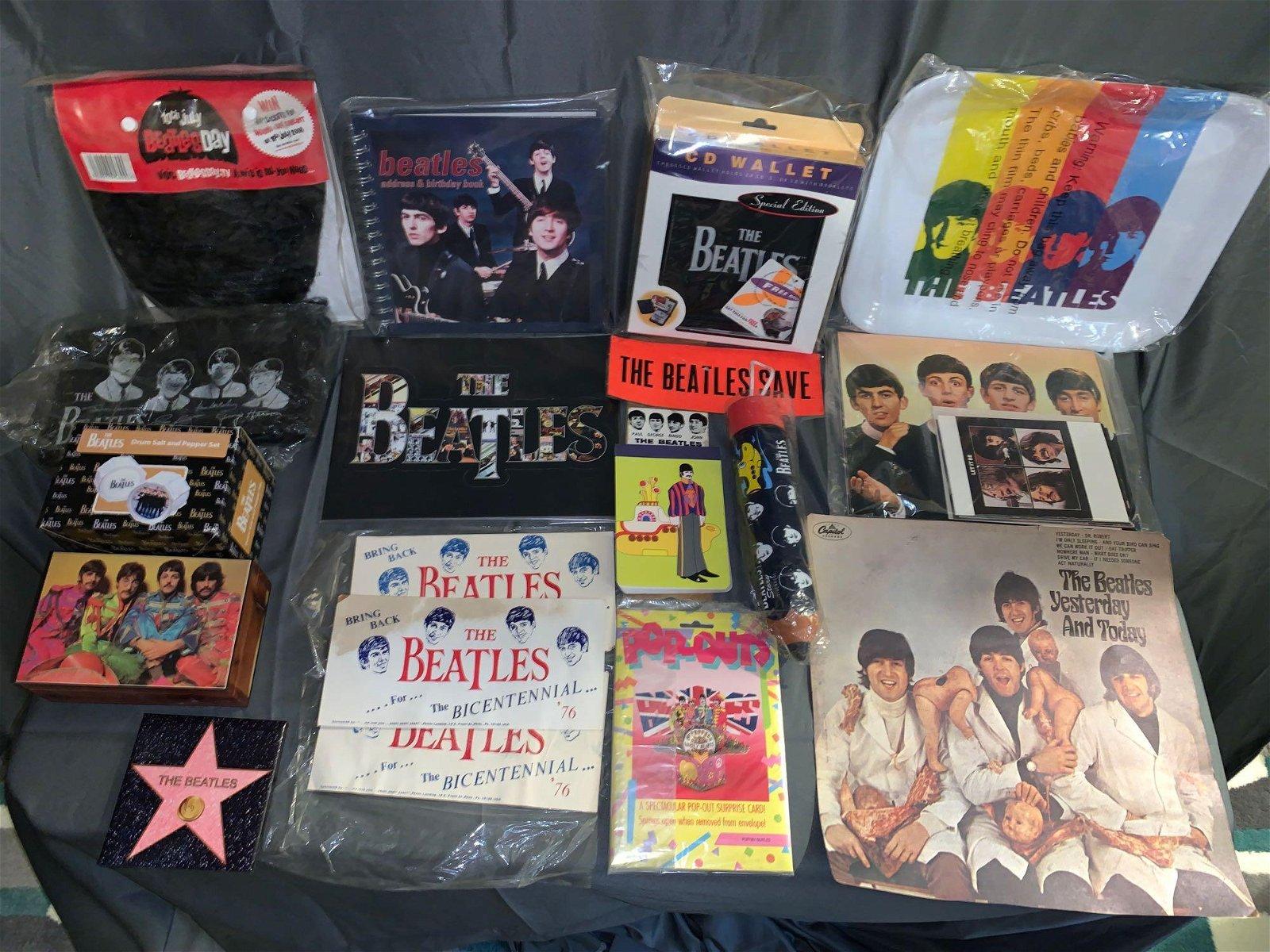 Grouping of Beatles-related Memorabilia
