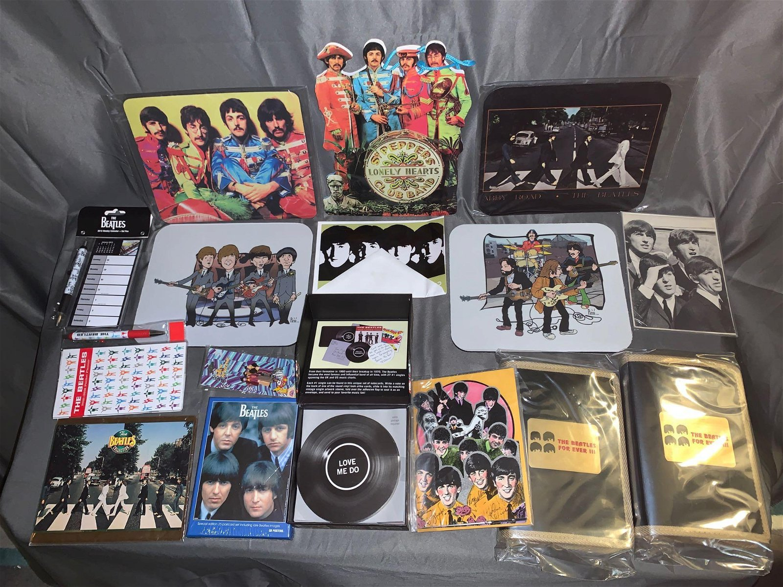 Grouping of Beatles Memorabilia
