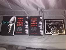 Four Beatles Books Signed By Author