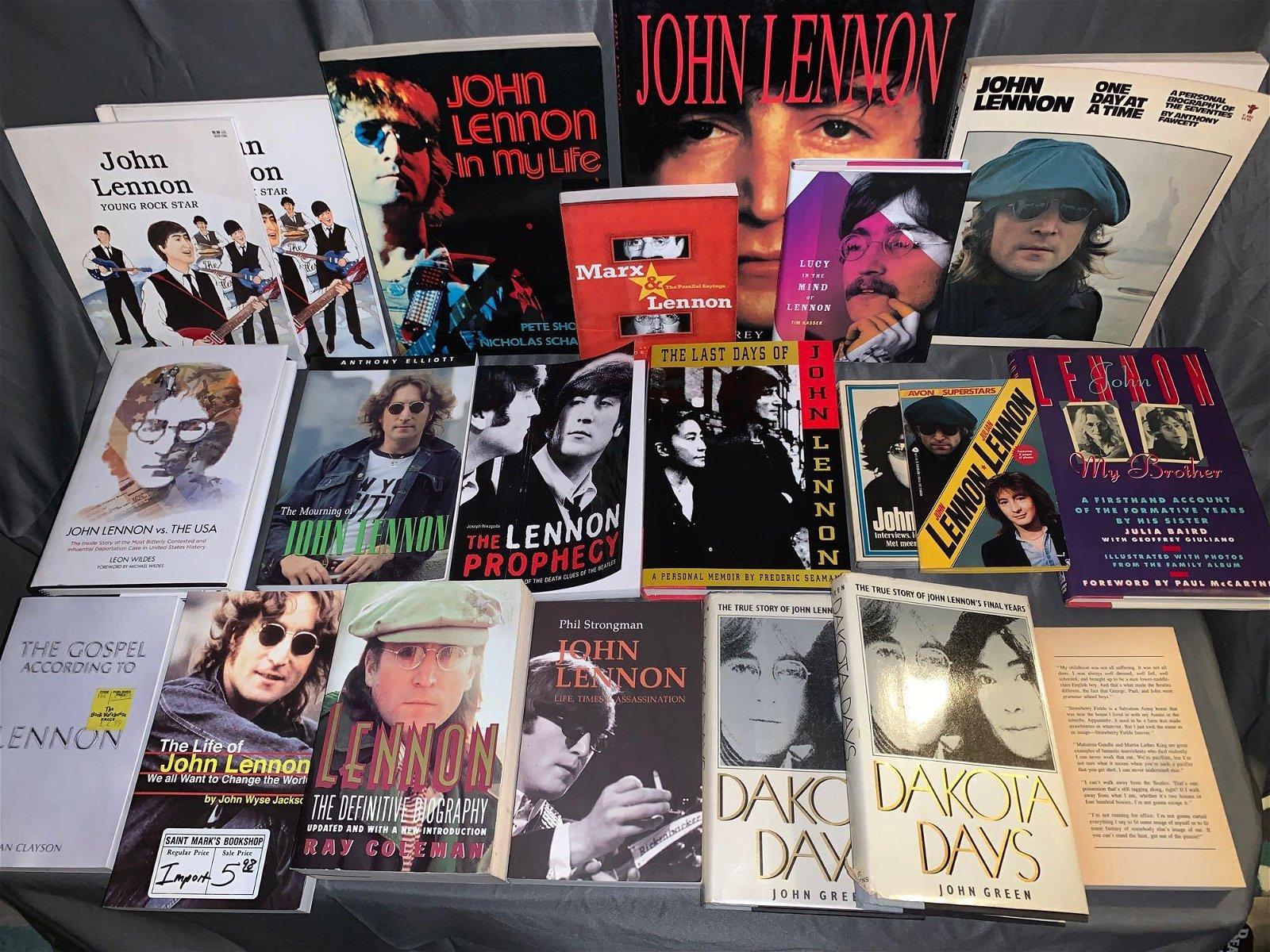21 John Lennon-related Books