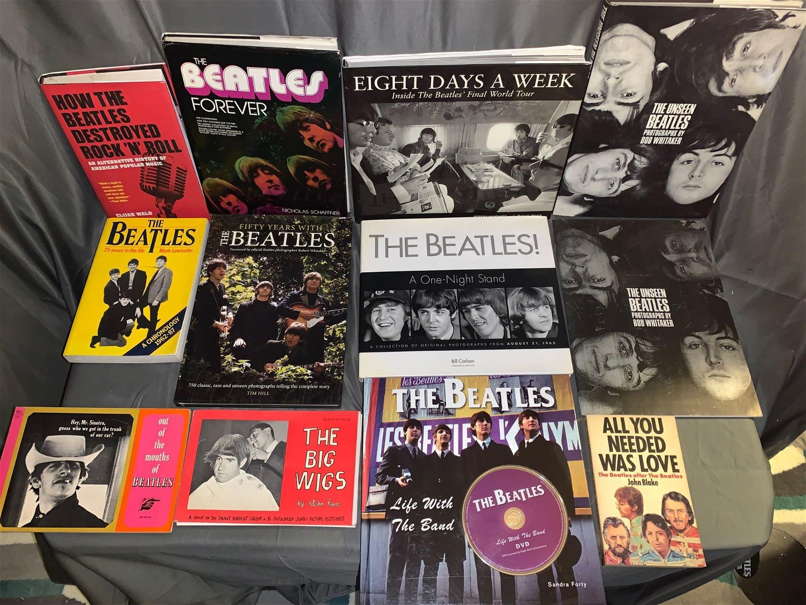 12 Beatles-related Books