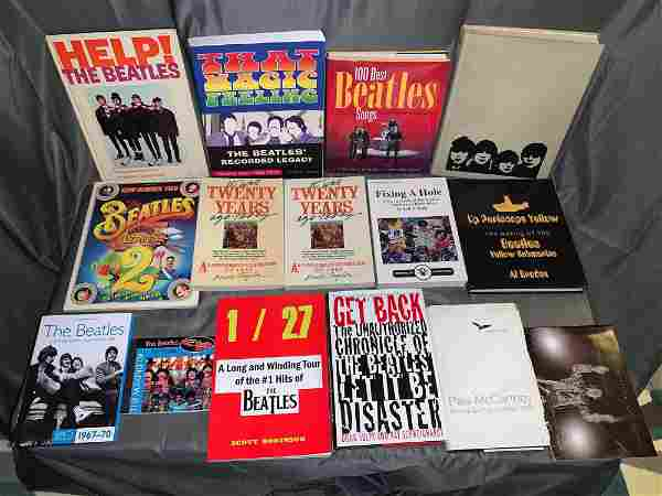 15 Books About Beatles Songs, Albums or Films