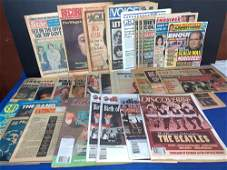 30 Magazines Featuring The Beatles